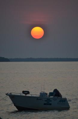 Sunset at Endyalgout